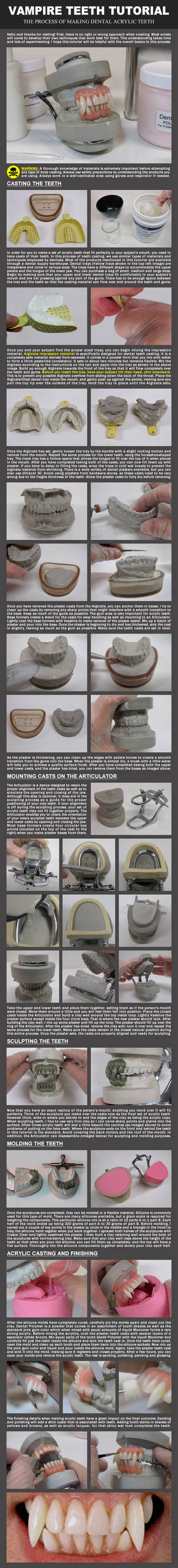 Vampire Teeth Tutorial