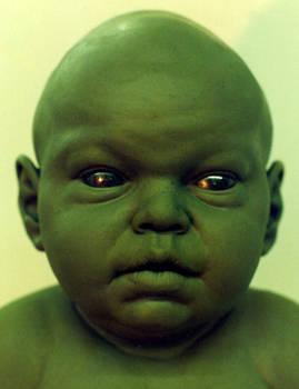 Alien baby: close up