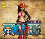 [MMD] Nico Robin One Piece Film Z DL