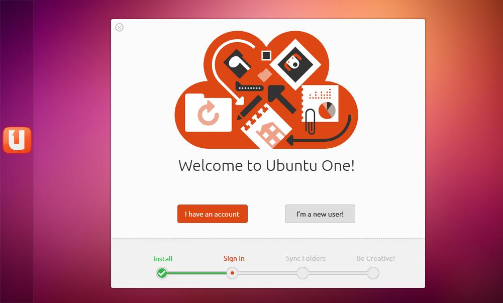 Mockup: Ubuntu One by 0rAX0