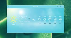 GNOME Weather alternative concept