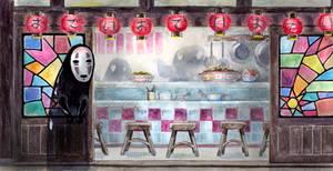 Spirited cafe