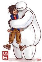 HUGS doodle by RenRoyal