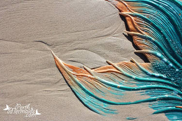 Patterns in the sand by PerthMermaids