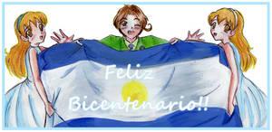 Feliz_Bicentenario_Argentina by RingoAoi-San