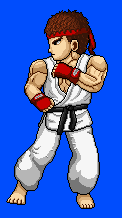Ryu Sprite by Gelatos