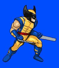 Wolverine Sprite by Gelatos