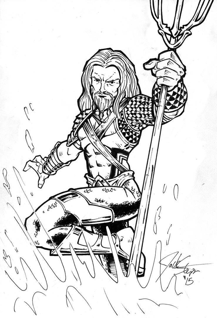 aquaman symbol coloring pages - photo#8