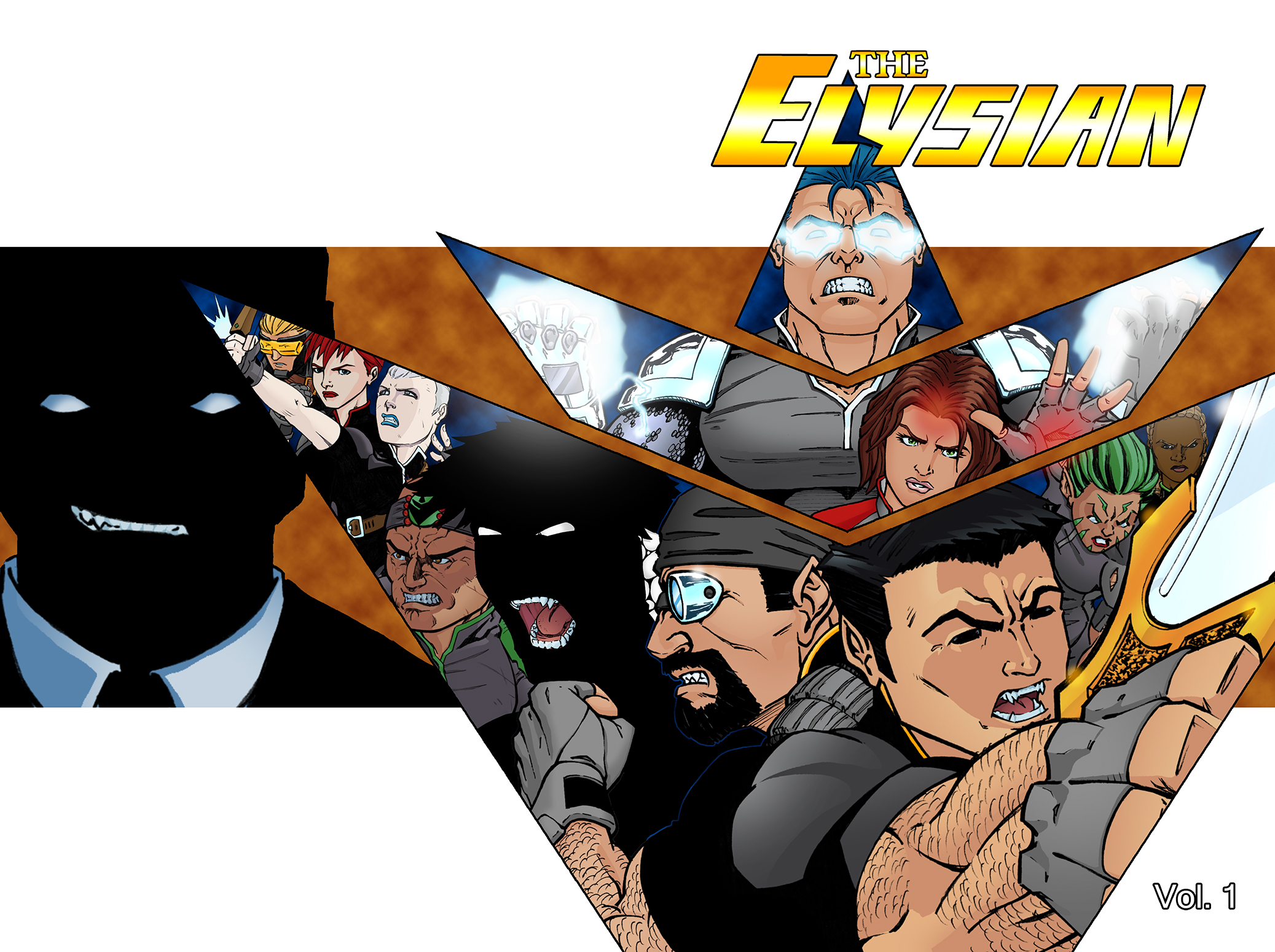 The Elysian Vol. 1 cover
