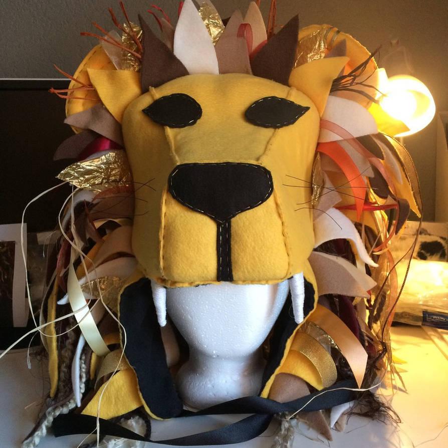 e6bc1fea5c4 94+ Luna Lovegood Lion Headdress Diy In 2019 Lion King Costumes ...