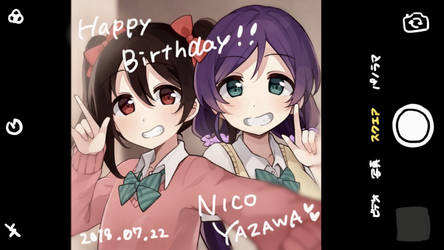Happy birthday Nico chan