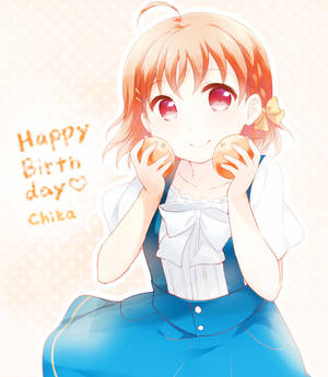 happy birthday chika-chan