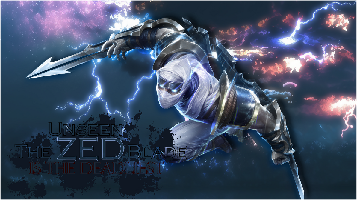 Wallpaper Zed by ShyrkNostale