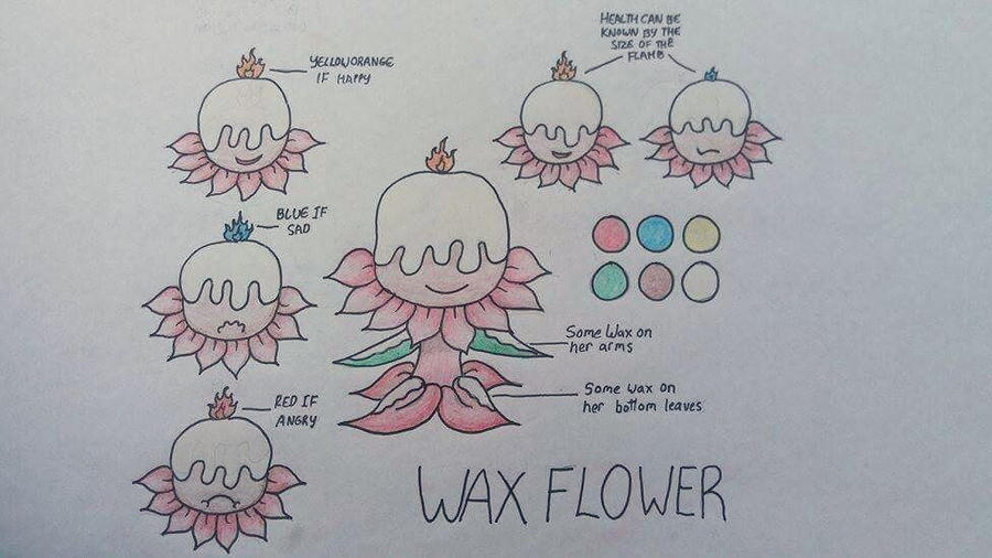 WaxFlower Doodles  by ForestArcherBoy
