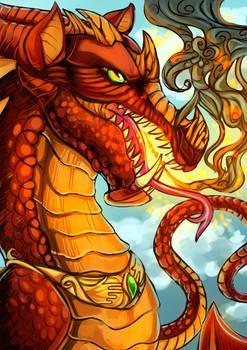 2k17 DeviantArt dragon