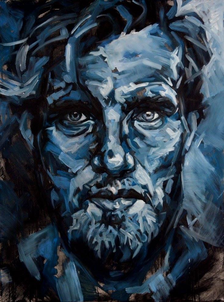 Untitled (Blue) by joehortonart