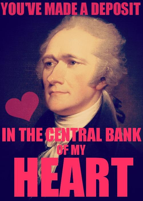 Alexander Hamilton Valentineu0027s Day Card By SakakiOfAbraxas ...