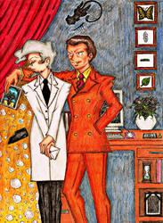 The Seduction of Dr. Fuji Pt. 1 by SakakiOfAbraxas