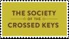 Society of the Crossed Keys Stamp 2 by SakakiOfAbraxas