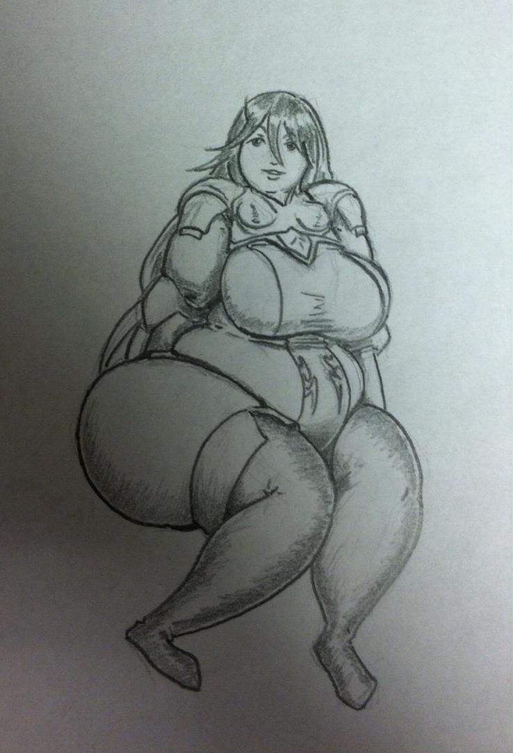 Cordelia Needs New Armor by Hisano-x