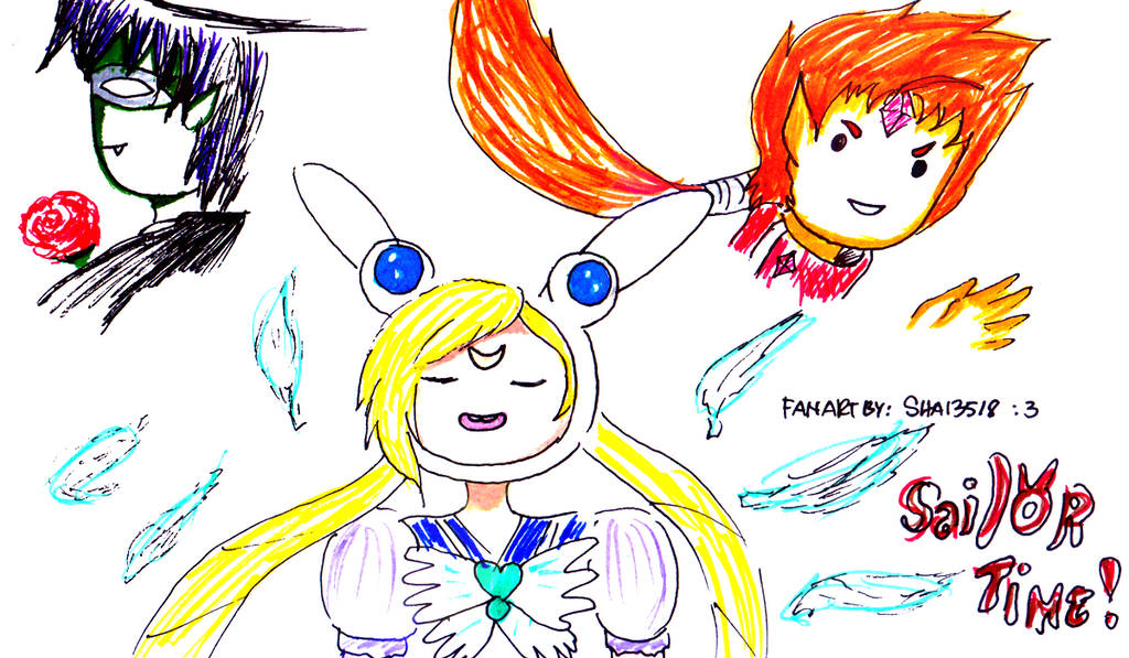 Sailor Time!! by Shai3518