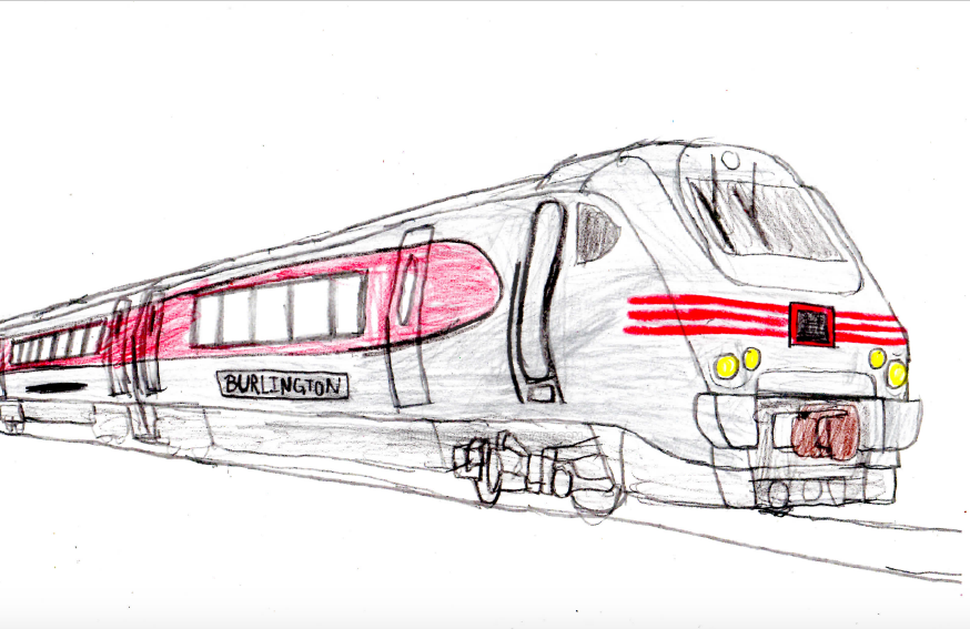 Burlington HSR 221 by mrbill6ishere
