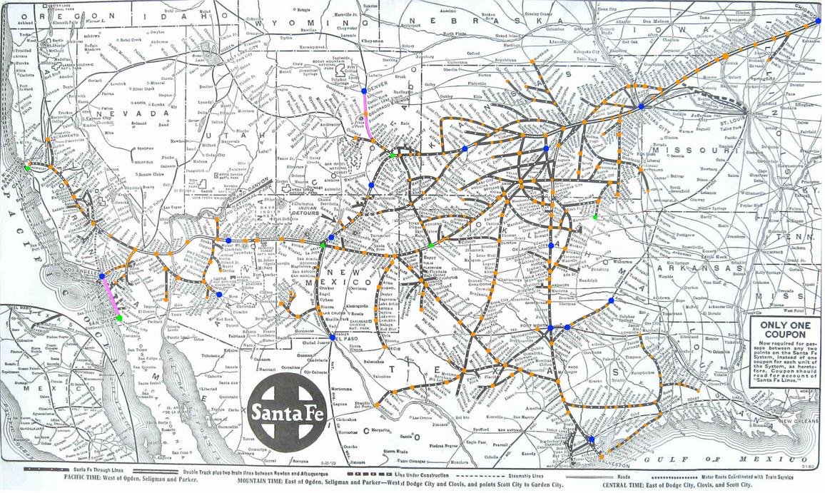 ATSF map plan by mrbill6ishere
