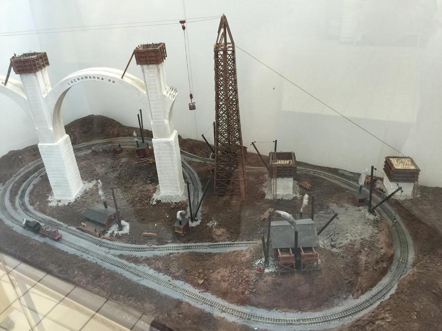 Tunkhannock viaduct model 2 by mrbill6ishere