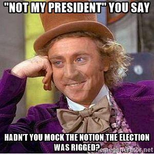 Wonka: Not my president by mrbill6ishere
