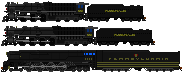 PRR 6 trailers by mrbill6ishere