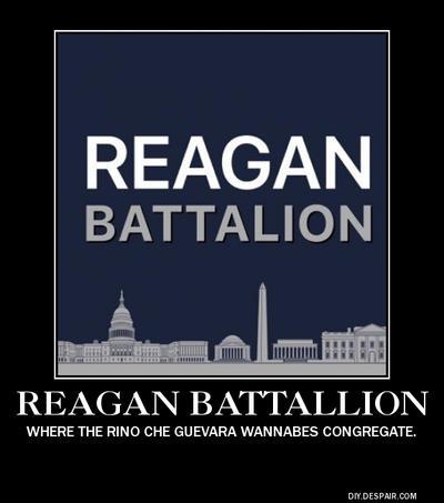 The Reagan Battalion Demotive by mrbill6ishere