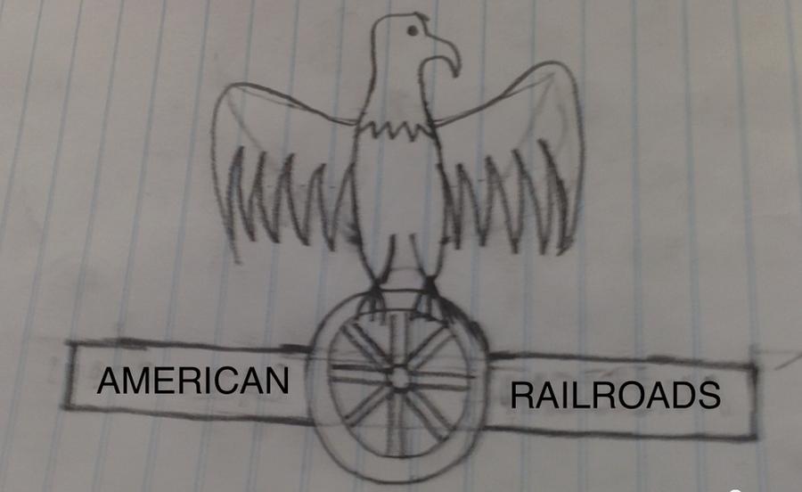 American Railroads emblem by mrbill6ishere