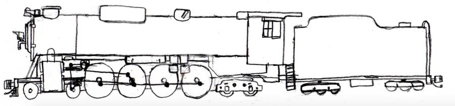 American railroads Standard steam: The 8M by mrbill6ishere