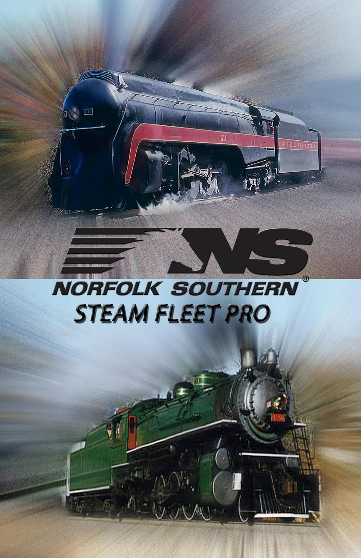Norfolk Southern Steam Fleet Pro by mrbill6ishere