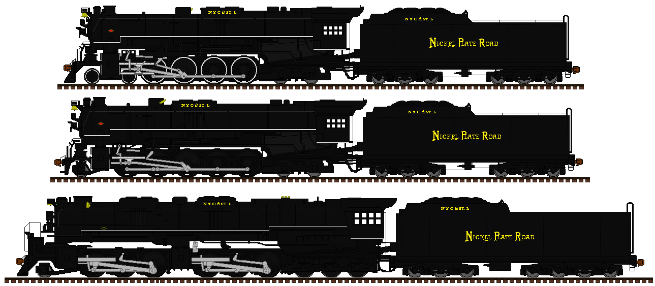 C and O engines in NKP style by mrbill6ishere