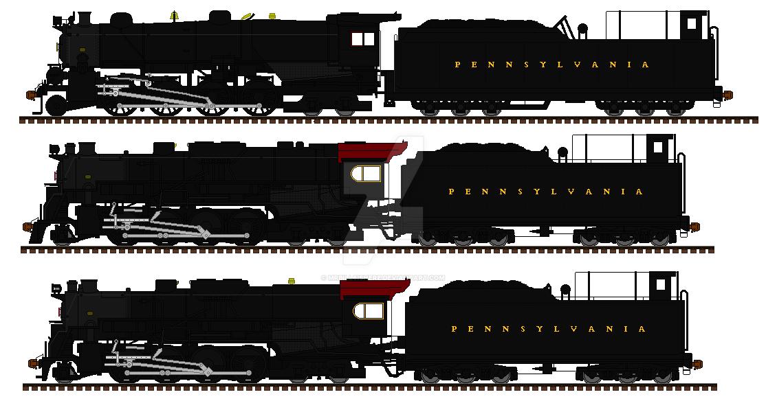 The PRR U class engines by mrbill6ishere