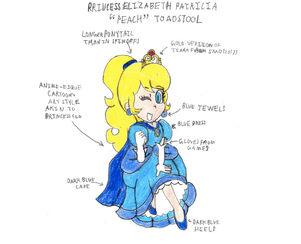 Princess Peach: Super Mario 2015 animated series by mrbill6ishere