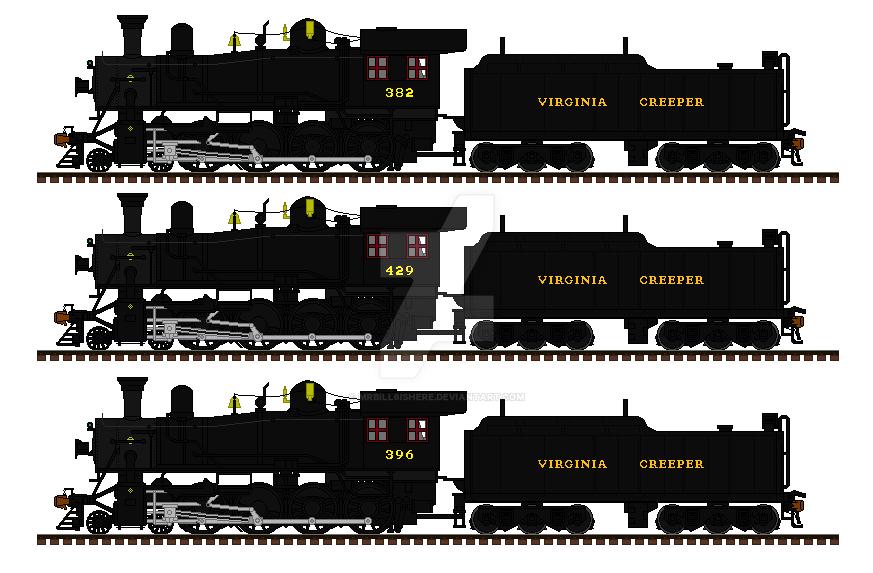 The Virginia Creeper Scenic Railroad by mrbill6ishere