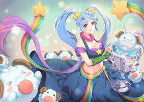 Sona and Seven Baby Poros by dakun87