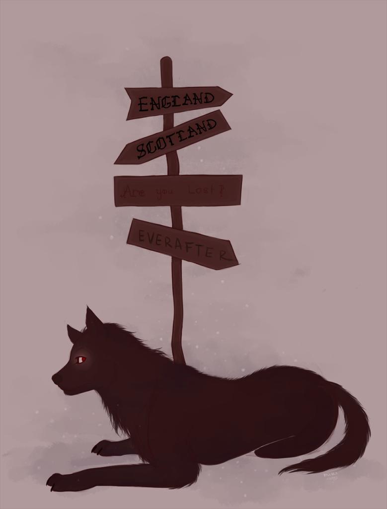 Cruce de caminos by Mirandaw