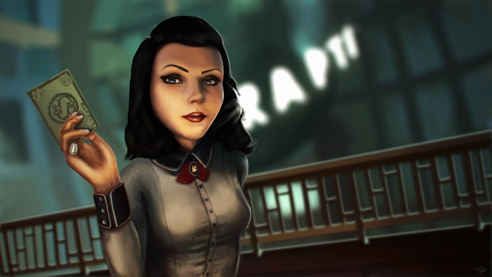 Elizabeth - Burial at Sea by omgmat