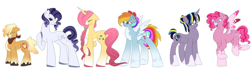 MLP Generation 5 (Would've been a contest entry)