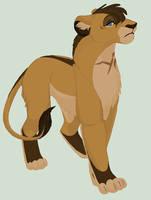 Saya the cave lioness by Lerynn