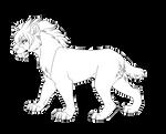 Female Smilodon