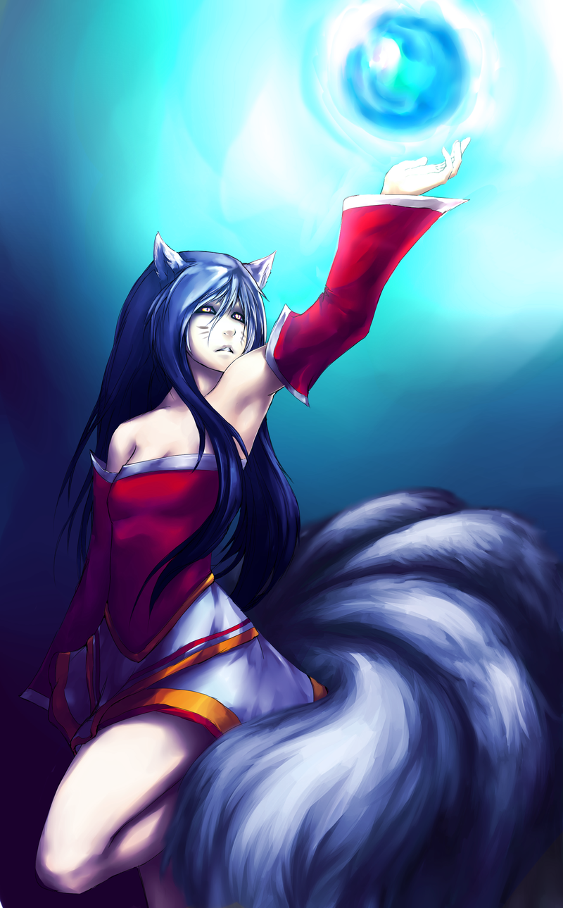 [LOL] Ahri by Tato-Commissions