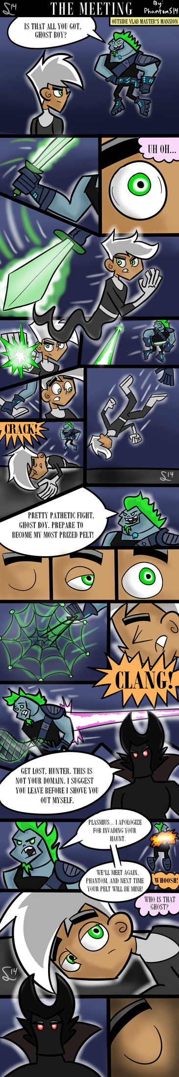 The Meeting: A Danny Phantom Comic by PhantomS14