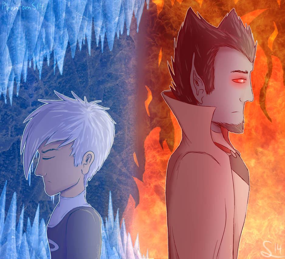 Fire And Ice (w/ speedpaint)