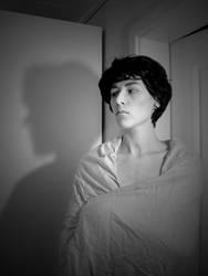Sherlock Holmes: Wig test by TheMaraudersProngs