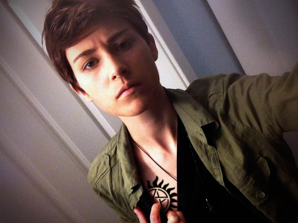 Dean Winchester: Wig test by TheMaraudersProngs