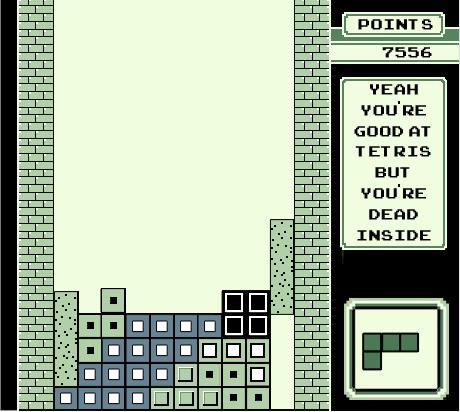 T Shirt 7: Tetris by mattcantdraw